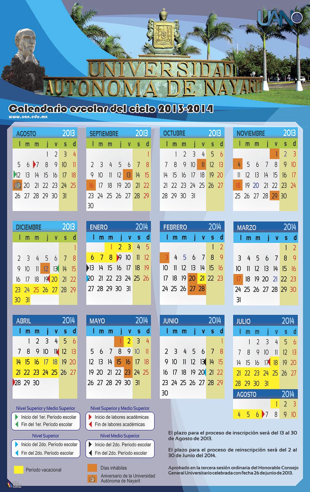] Acuerdo de la comisión especial del calendario escolar 2013 - 2014